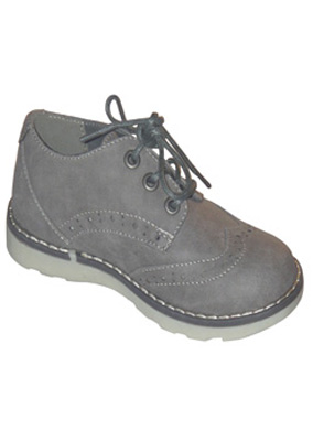 marks spenser boys lace up grey brogue shoes