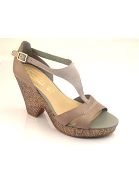 Platform-grey-sandal