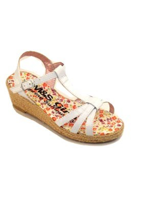 Girls-white-wedge-sandal