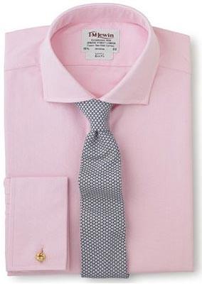 Pink-shirt-grey-tie