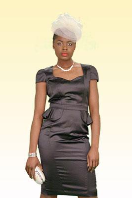 black-peplum-dress