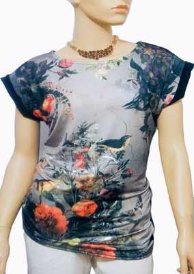 Floral-bird-top