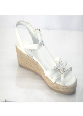 White-sandal